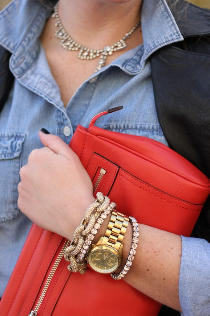 Red Clutch 