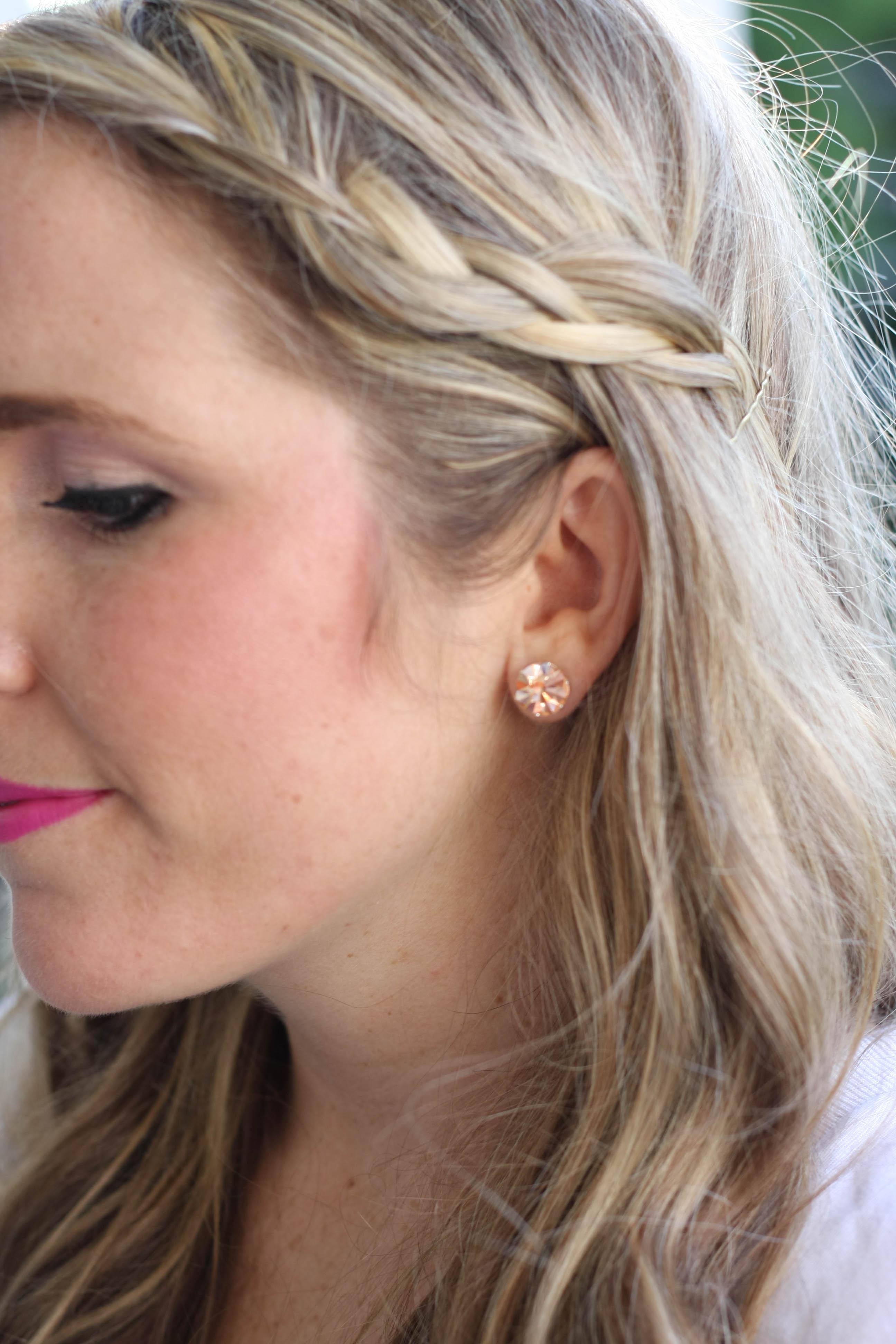 Jojo Loves You Earrings Jojo Love You Bling
