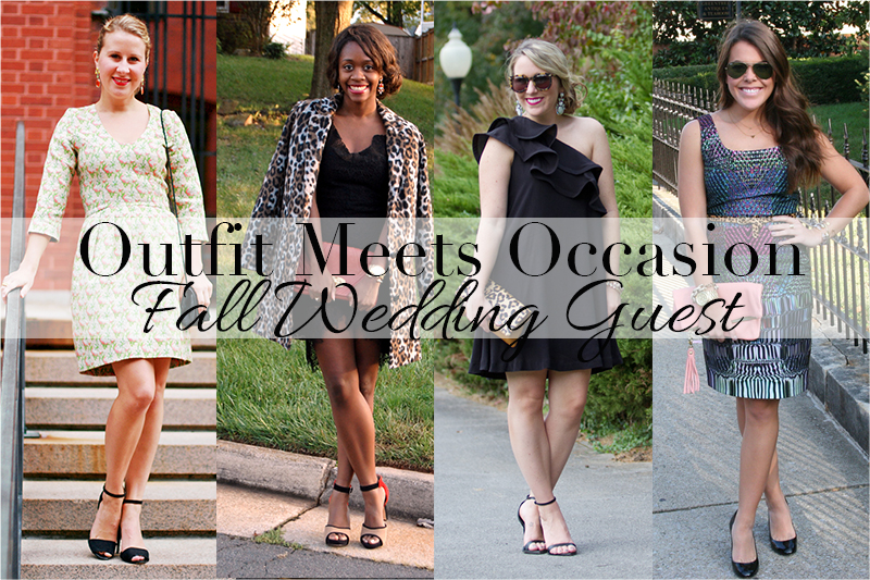 Outfit Meets Occasion Fall Wedding Guest