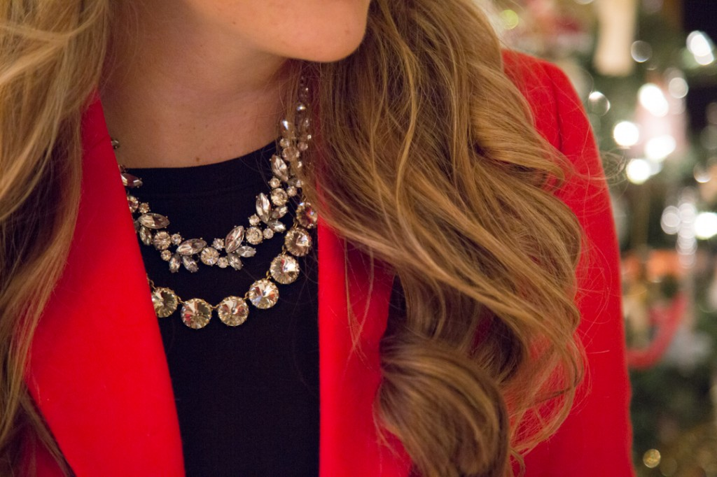Layered Statement Necklaces by Forever 21 and J.Crew Factory