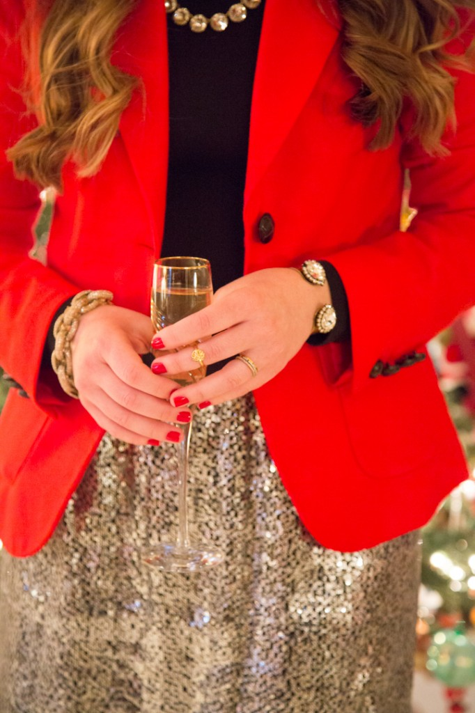 Holiday Dressing Cocktail Recipe by Pearls & Twirls