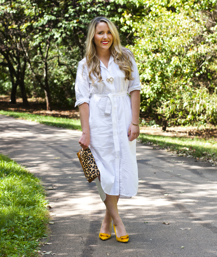 White Shirt Dress from Gap