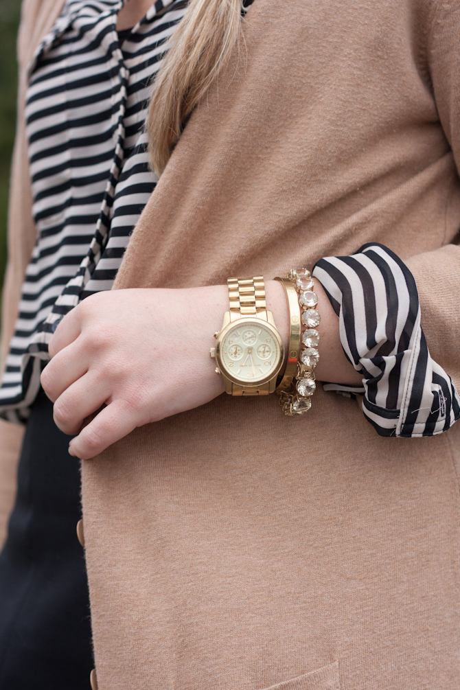 Michael Kors watch & JTV bracelet