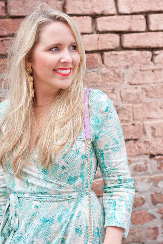 My Kind of Lovely dress & Lisi Lerch earrings