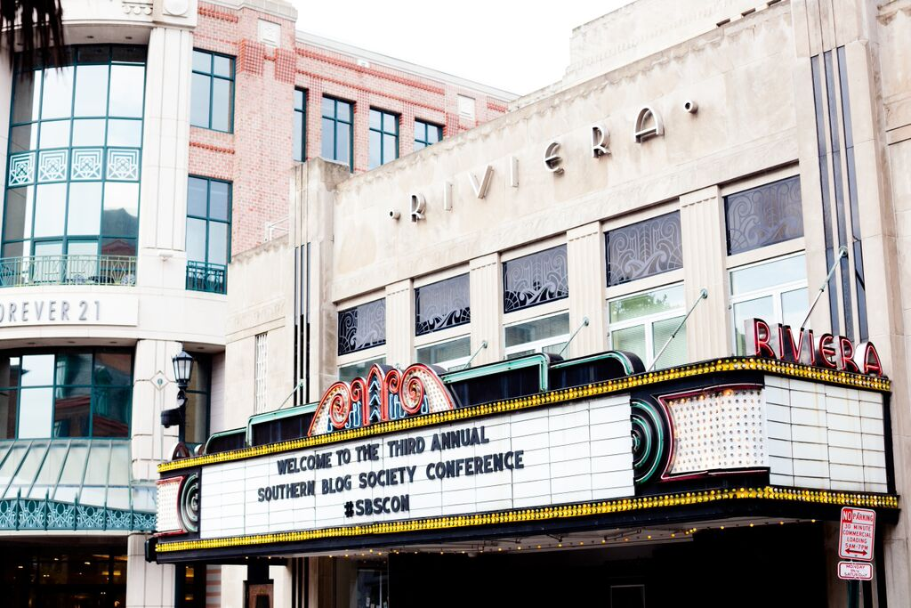 Rivera Theater for Blog Conference in Charleston