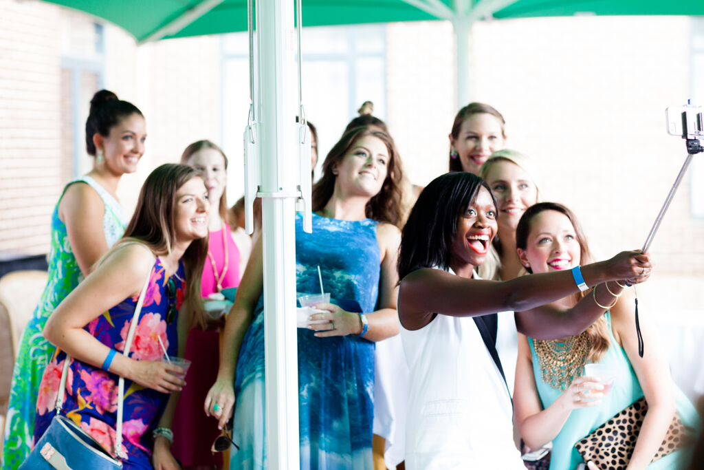 Blogger Selfie Stick Pic