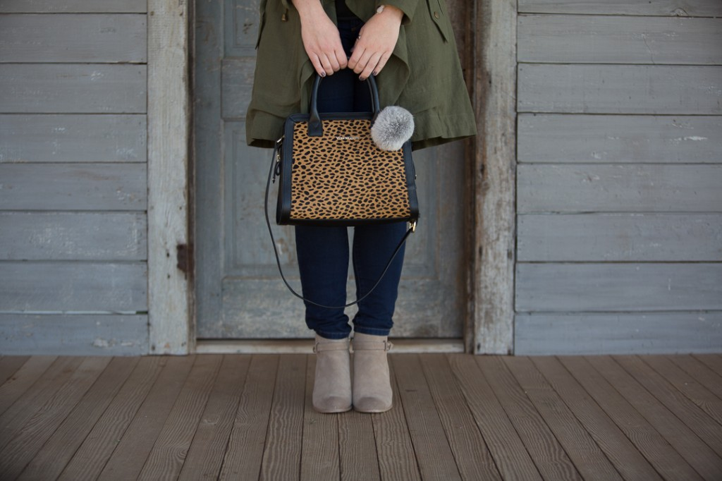 Booties Under $100 & Vera Bradley Calf Hair Bag