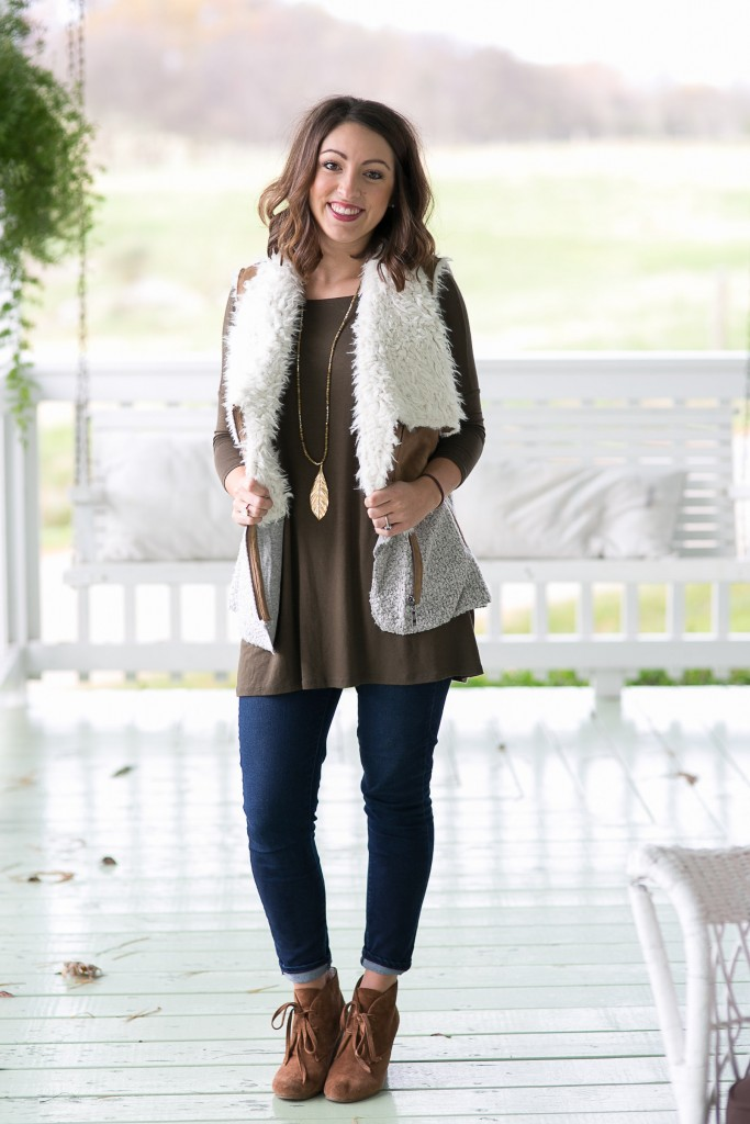 Shearling Vest from My Kind of Lovely