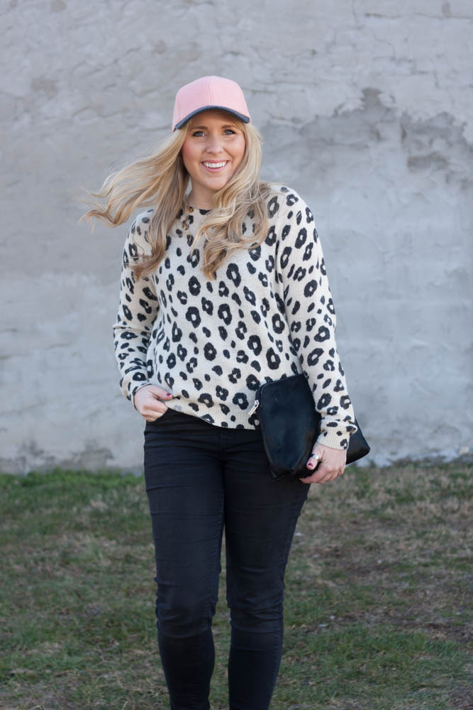 Ball Cap & Leopard-8