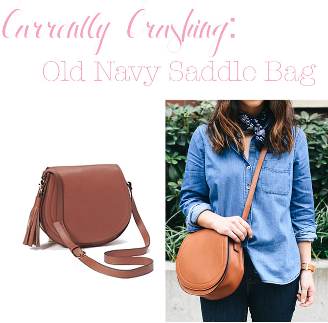 Curly Crushing Old Navy Saddle Bag Pearls And Twirls