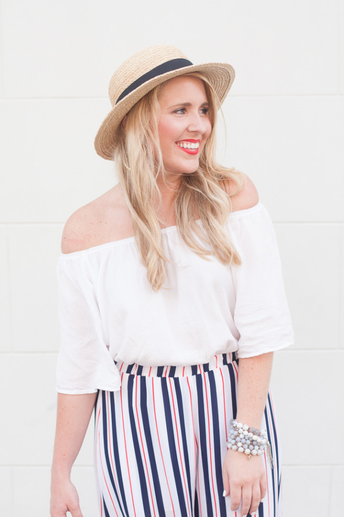 summer charleston outfit featuring sole society hat