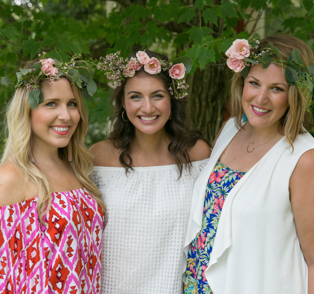 Bridal Shower Flower Crowns