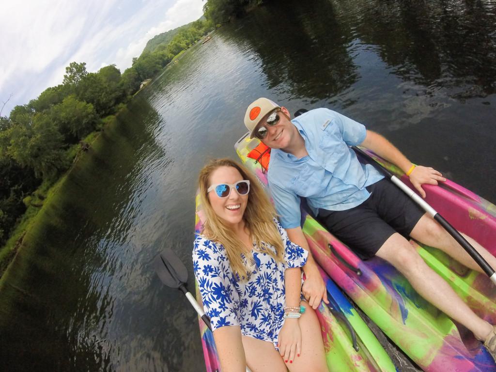 kayaking the caney fork river