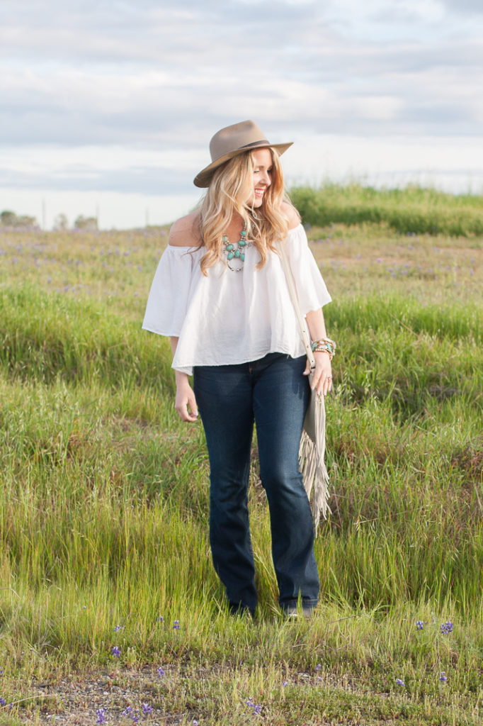 Flare Jeans & Western Accessories