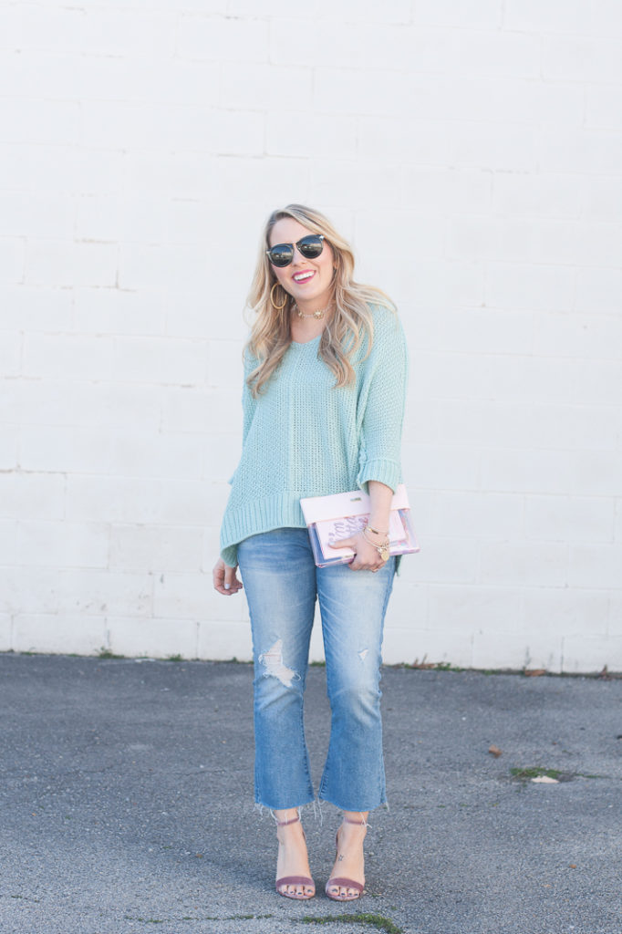 Spring Mint Sweater