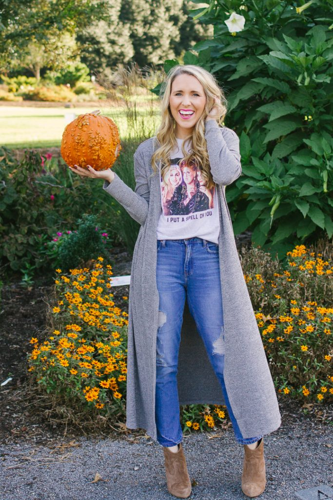 How To Style a Halloween Tee