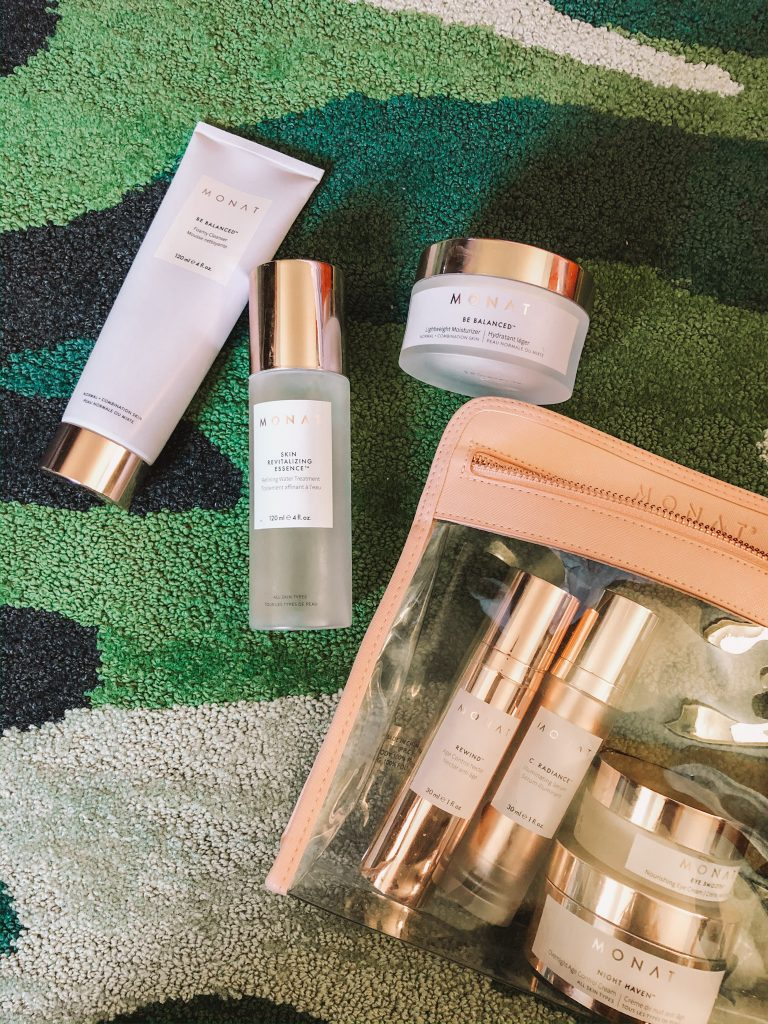 Monat Skin Care Review featured by top Nashville beauty blogger, Pearls and Twirls
