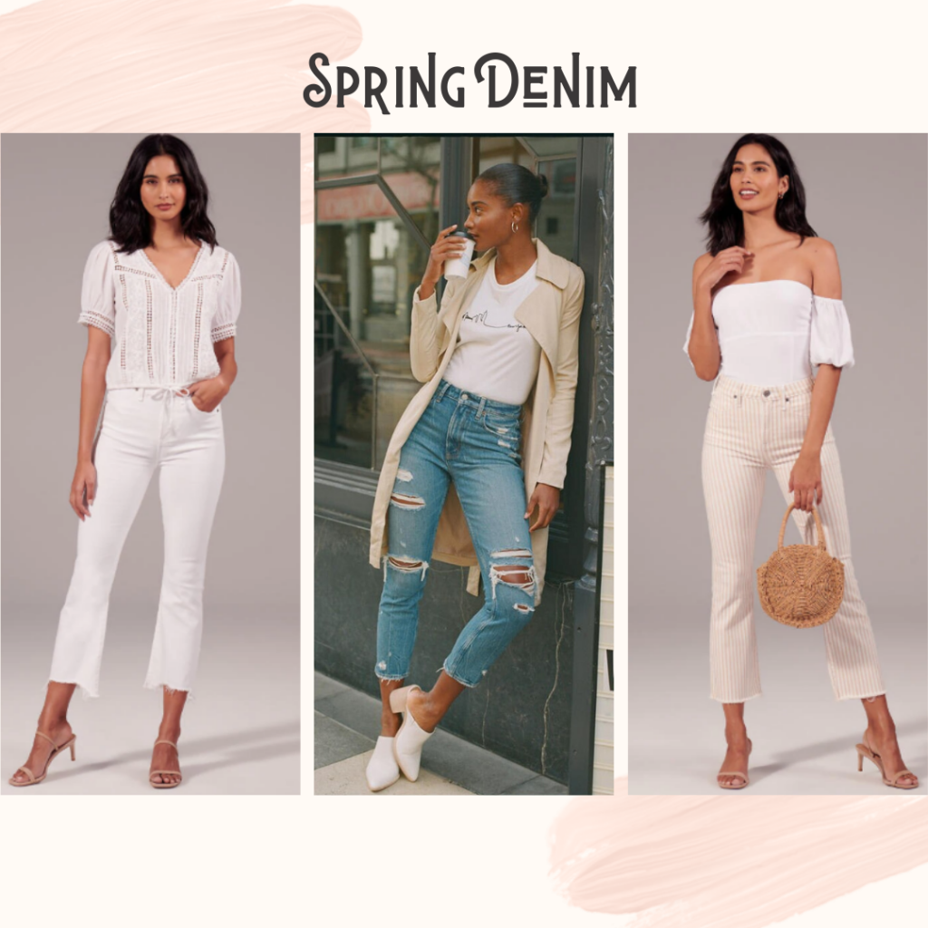 spring shopping: jeans