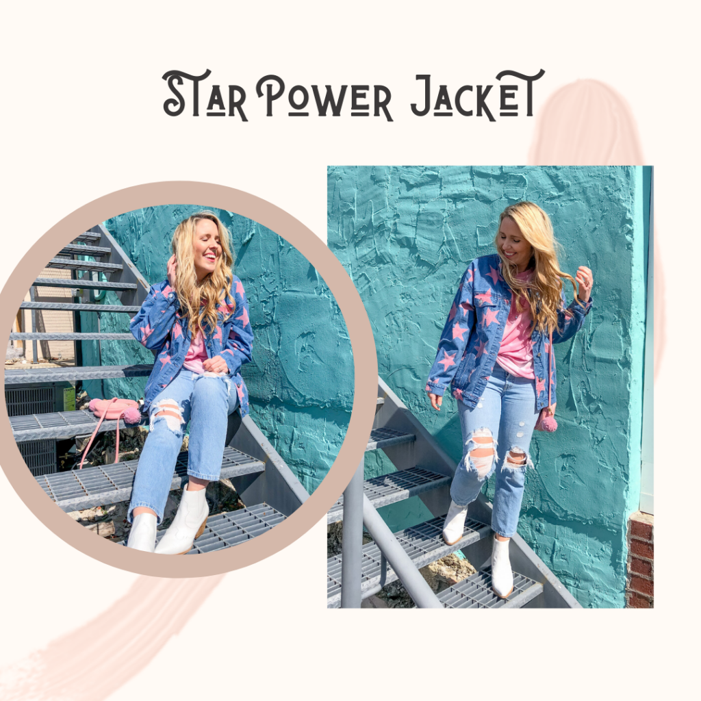 cool star denim jacket