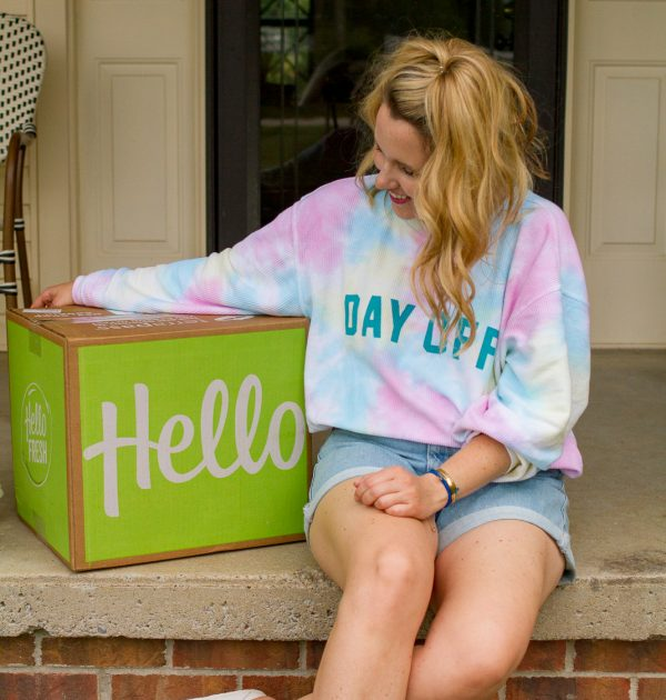 Top 5 Lifestyle Subscription Boxes to Try featured by top Nashville lifestyle blogger, Pearls and Twirls: HelloFresh