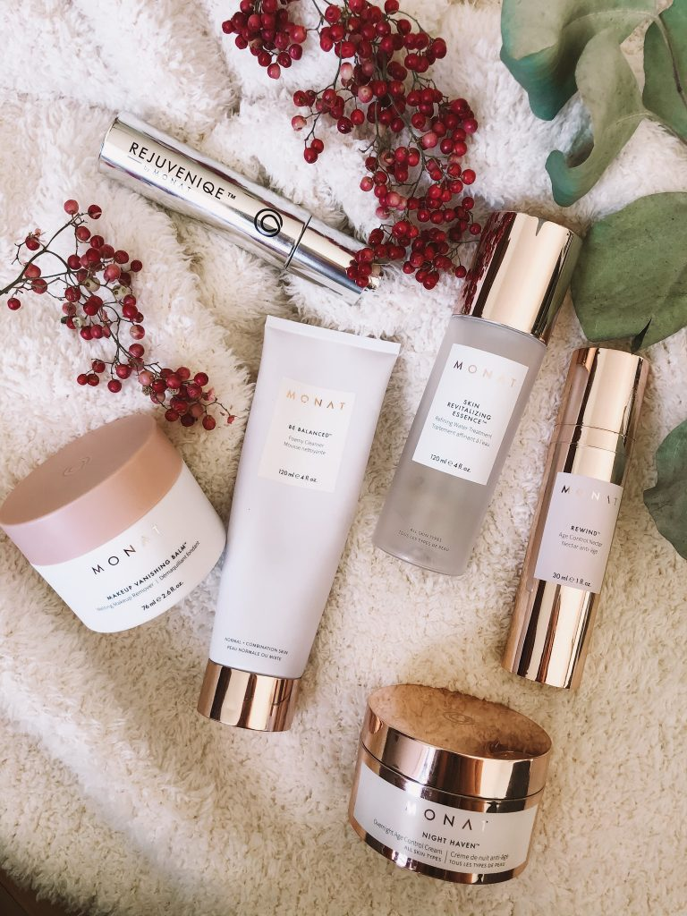 monat skincare | Monat Skincare by popular Nashville beauty blog, Pearls and Twirls: image of Monat skincare products.