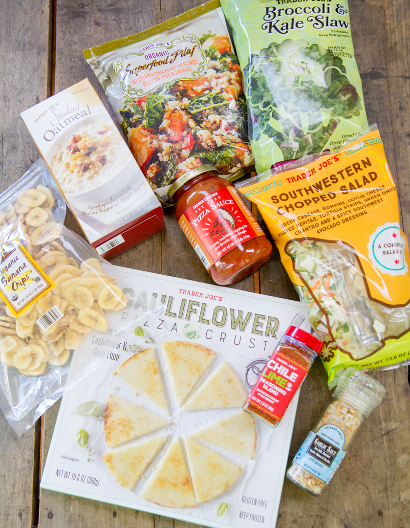 Mini Trader Joes Haul: all my Favorite Healthy Products featured by top Nashville lifestyle blogger, Pearls and Twirls