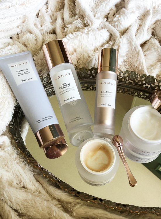 Morning Beauty Routine with Monat Skincare featured by top Nashville beauty blogger, Pearls and Twirls